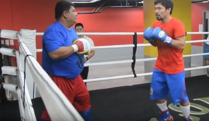 Manny Pacquiao's Best Friend Surprised A Lot Of People In The Matthysse Fight