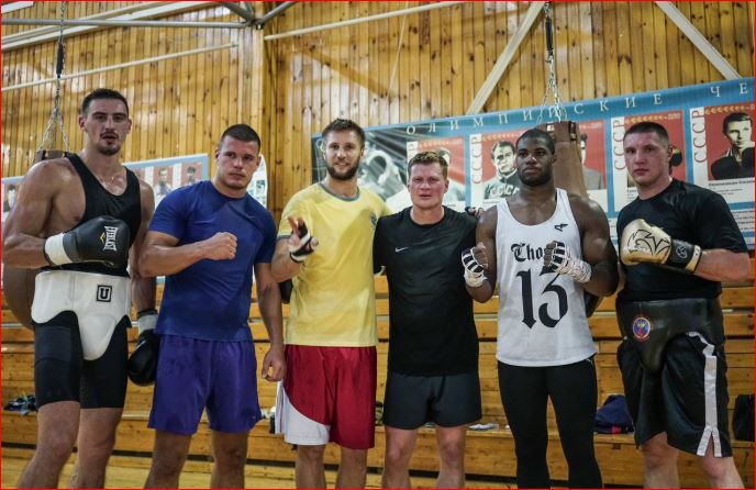 Povetkin Picture Reveal Intense Sparring For Anthony Joshua