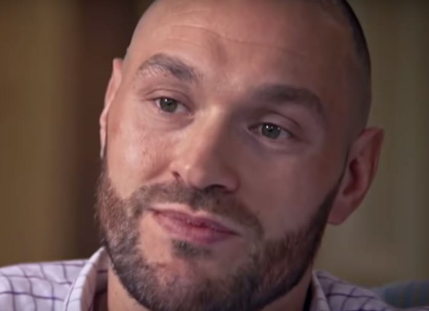 Tyson Fury Reveals Weight Goal For Deontay Wilder Fight
