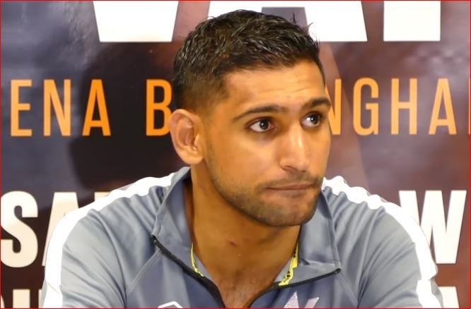 Amir Khan Fires Shots At Kell Brook For Delay - Fans Revolt