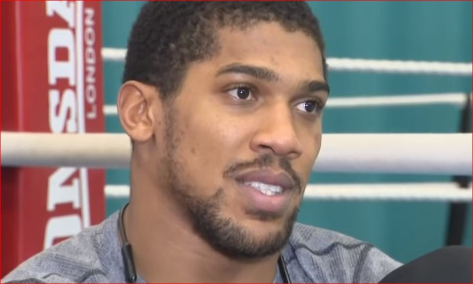 Anthony Joshua Divulges The Crazy Pressure He's Under Ahead Of Povetkin Fight