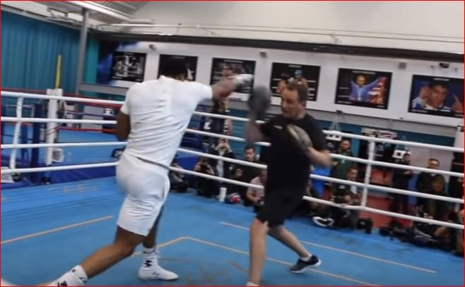 Anthony Joshua Looks In Frightening Shape For Povetkin