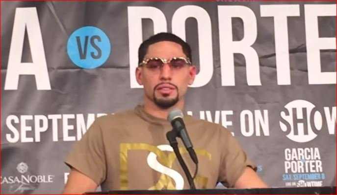 Danny Garcia Gives Emotional Reaction To Porter Loss