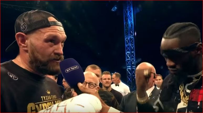 Tyson Fury Declares War On America