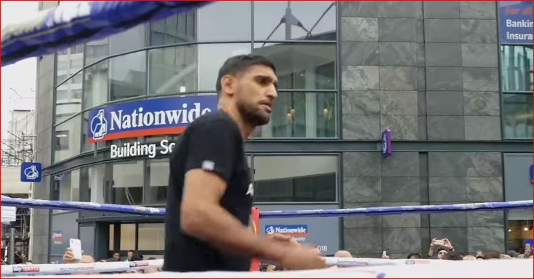 Live Stream Amir Khan Weigh Full Video