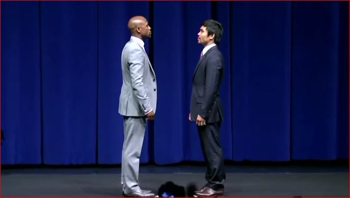Pacquiao On Mayweather 2 Deal, Trainer For The Fight, Back Up Plan and Announcement