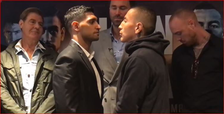 amir khan vs samuel vargas time In Tonight's Boxing