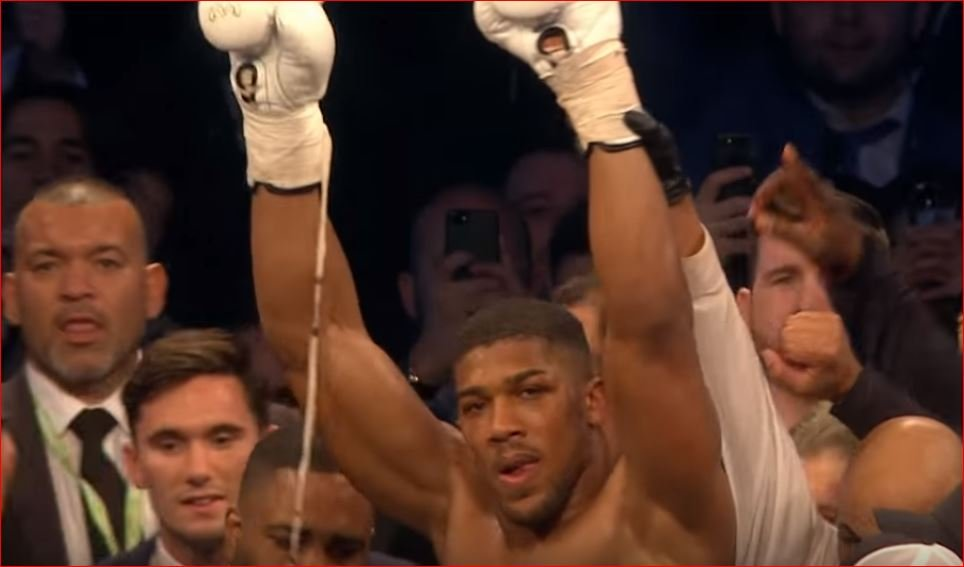 Anthony Joshua Becomes The First Man To Knock Out Povetkin