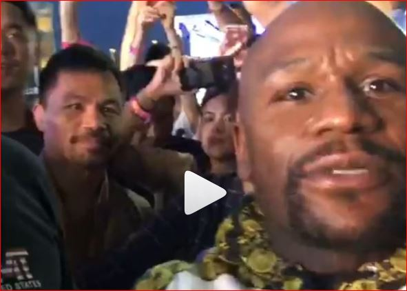 pacquiao promises to end mayweather's undefeated record in rematch