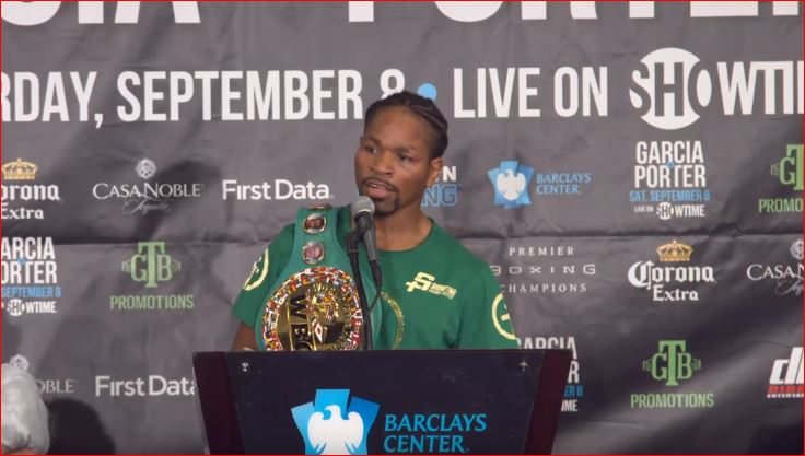 shawn porter reacts to becoming two time world champion
