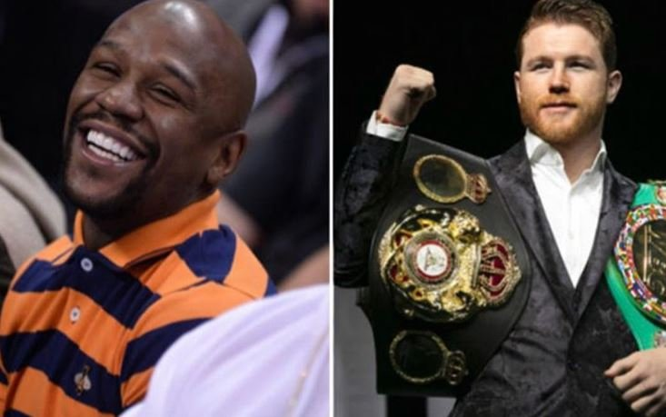 50 Cent Stands Up For Canelo After Mayweather Roasting