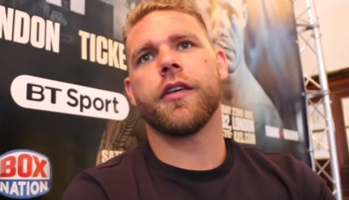 Billy Joe Saunders Reacts To Andrade Winning His Old World Title