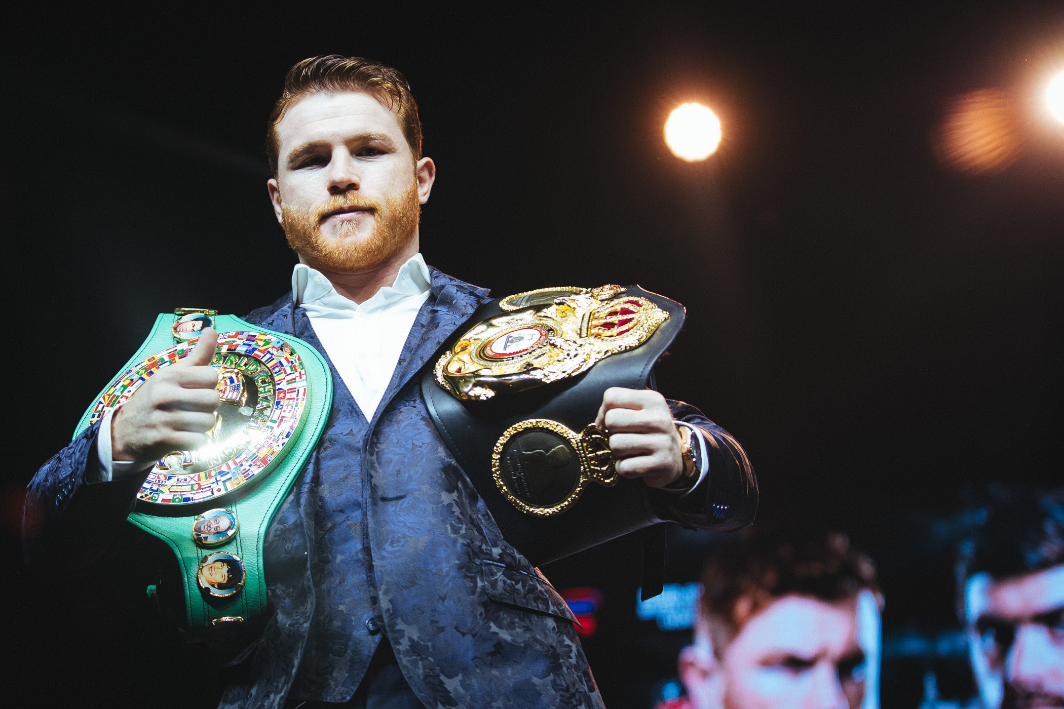 Canelo Jabs Mayweather After Signing With DAZN