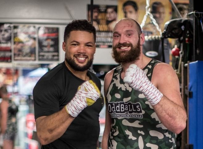 Joe Joyce Makes Big Claim About Tyson Fury After Sparring Him