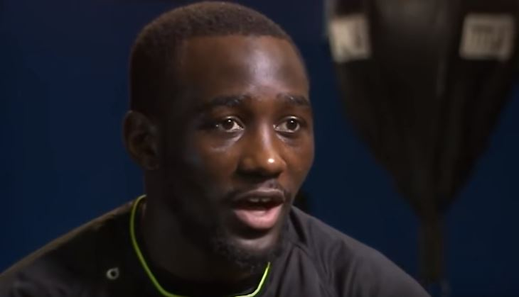 Terence Crawford's Immediate Reaction To Knocking Benavidez Out