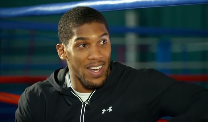 Anthony Joshua Makes A Big Claim About What He's Going To Do In 2019