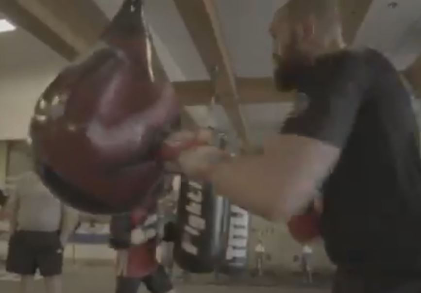 Footage Of Tyson Fury On The Wrecking Ball Shows He's In Shape Of His Life For Deontay Wilder