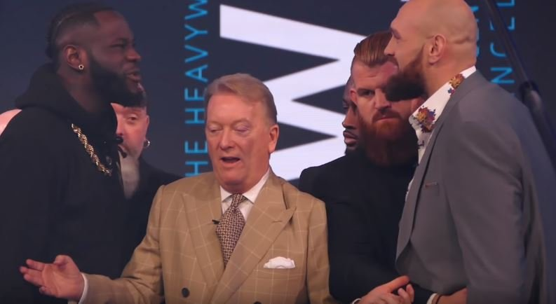 Lennox Lewis, David Haye and Ricky Hatton Predict Wilder vs Fury