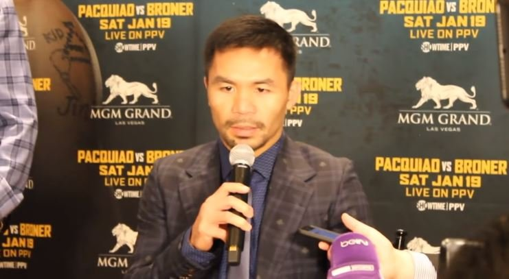 Manny Pacquiao Reacts To Adrien Broner's Racial Jokes