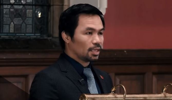 Manny Pacquiao Takes Pride In Filipino Heritage After Oxford and Cambridge Address
