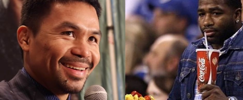 Pacquiao Makes Thanksgiving Fat Joke At Adrien Broner's Expense
