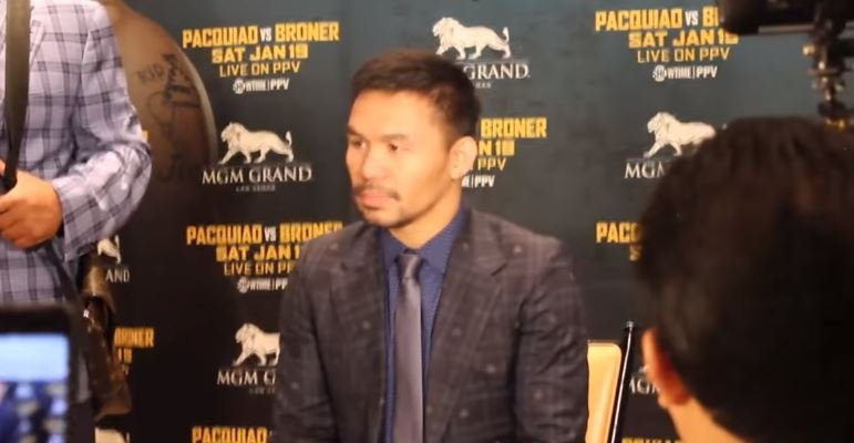 Pacquiao Opens Up On The Lowest Point Of His Boxing Career