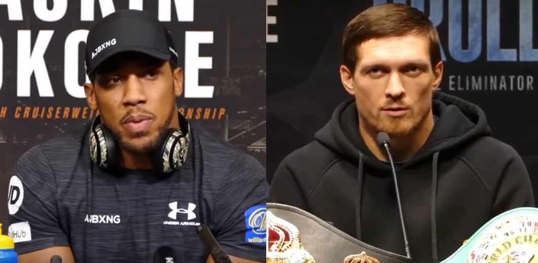 Usyk Reacts To Anthony Joshua Heavyweight Title Fight Idea