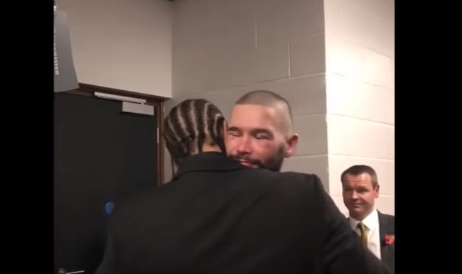 What David Haye Told Tony Bellew After Usyk KO