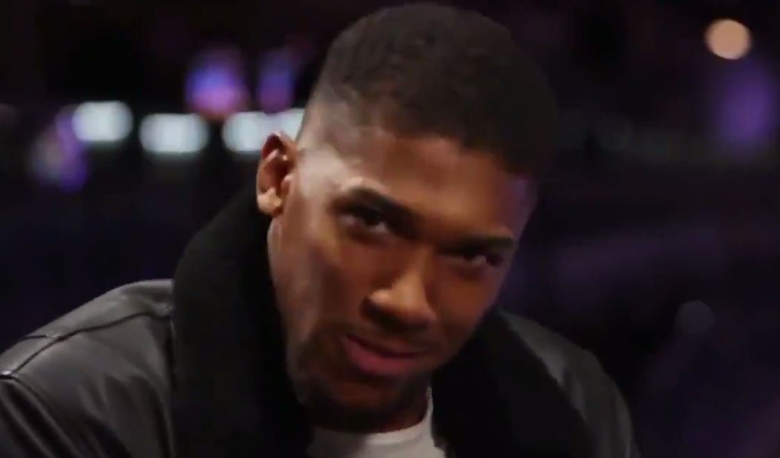 Anthony Joshua Mocks Deontay Wilder's American Accent