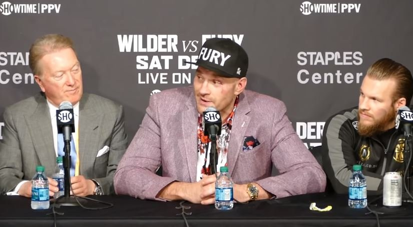 Carl Frampton Spot On About Tyson Fury's Performance Against Deontay Wilder