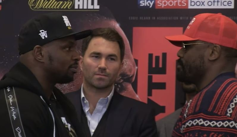 Chisora Makes Bold Claim Ahead Of Whyte Rematch