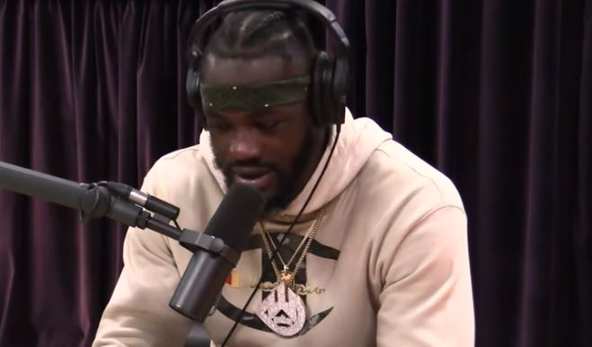 Deontay Wilder Not Happy With Referee In Tyson Fury Fight