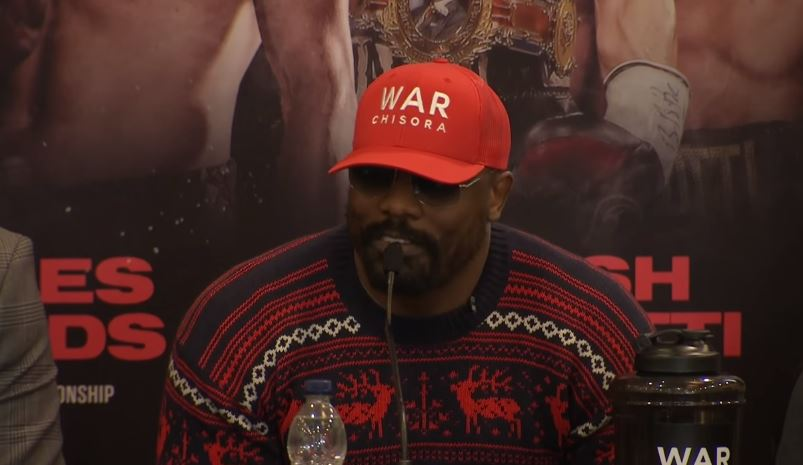 Dereck Chisora and Eddie Hearn Argue Ahead Of Whyte Rematch