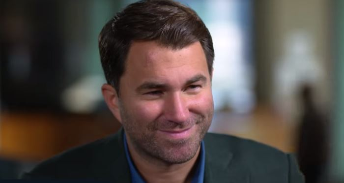 Eddie Hearn Responds To Canelo vs Smith Reports