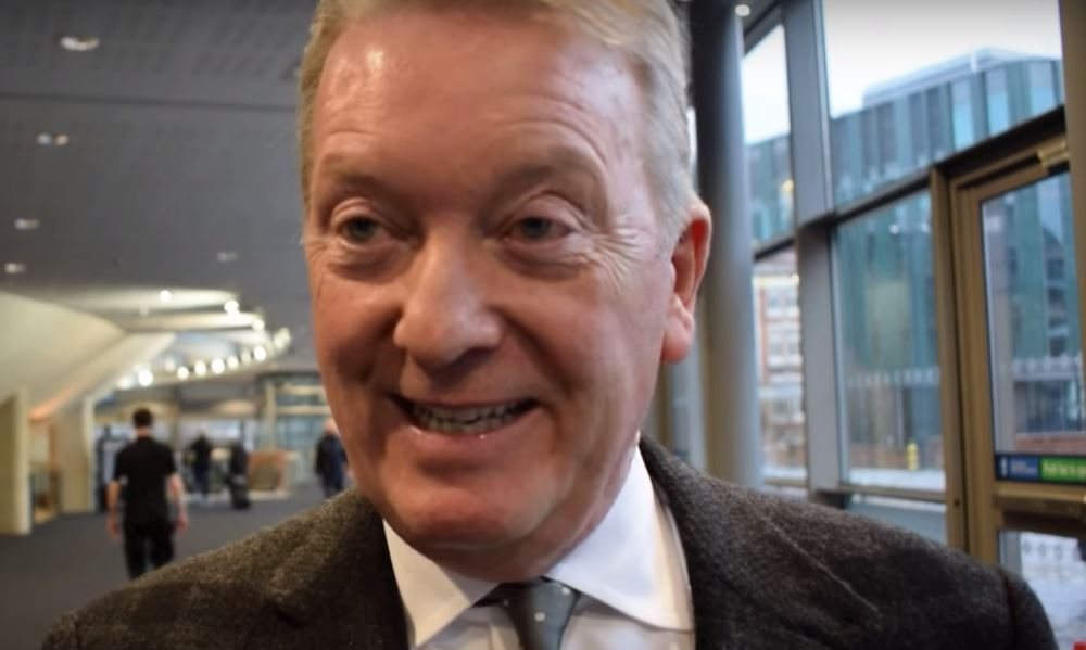 Frank Warren Blasts Eddie Hearn's Whyte vs Chisora 2 On Eve Of Warrington vs Frampton