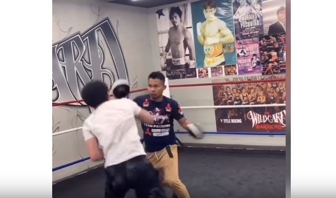 It Looks Like Manny Pacquiao's Son Is A Chip Off The Old Block