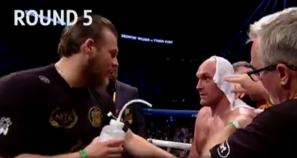 New Footage Shows Exactly What Fury Trainer Told Him During Wilder Fight