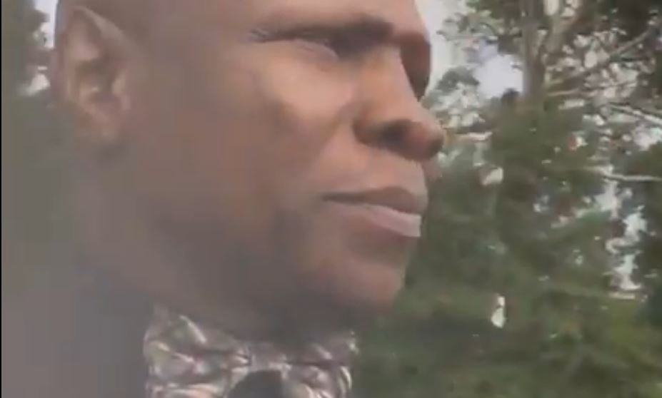 People Puzzled By Chris Eubank's US Police Officer Video