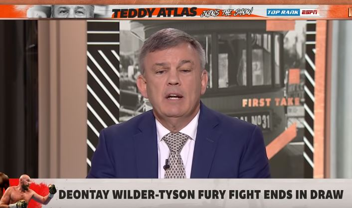 Teddy Atlas Gives Brutally Honest Reaction To Wilder vs Fury