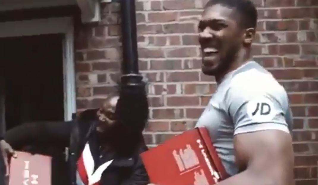 Video Shows What A Class Act Joshua Is Ahead Of Christmas