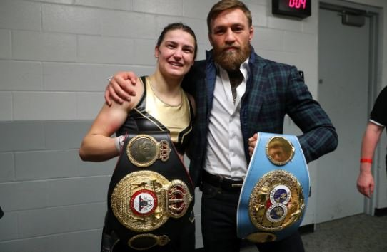 What Conor McGregor Let In Katie Taylor's Changing Room After MSG Win