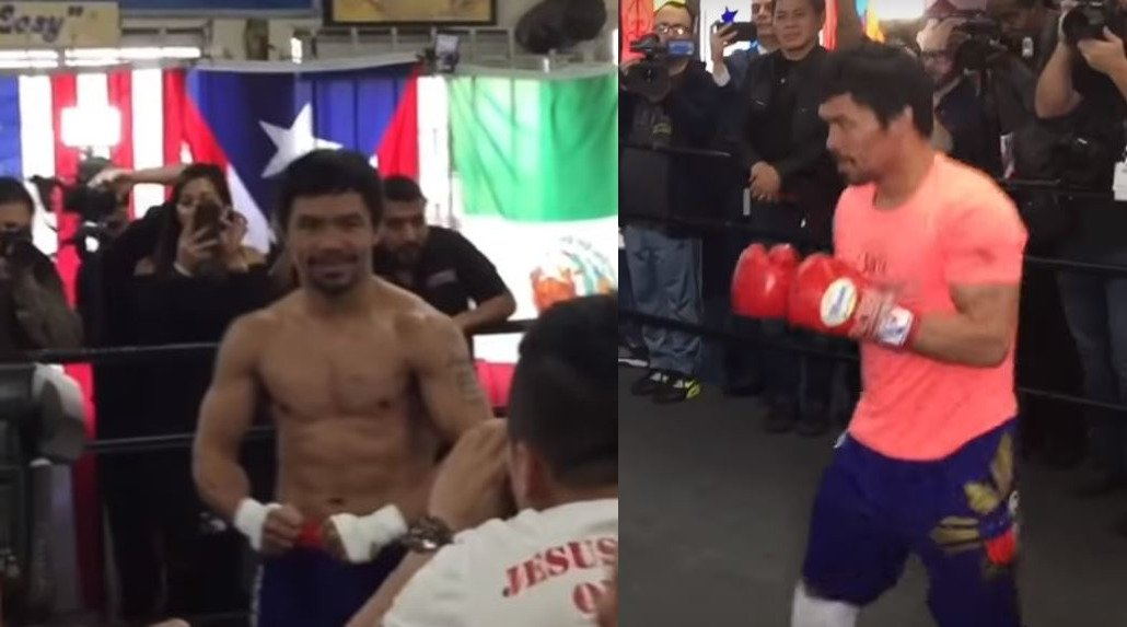40 Year Old Pacquiao Reveals Ripped Physique and Destructive Combinations