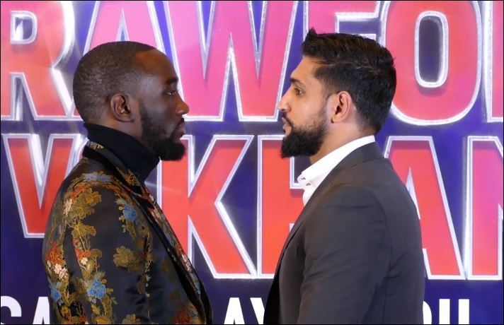 Boxing Fans Bite and Say The Same Thing About Crawford vs Khan