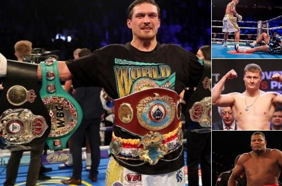 Boxing Fans Debate 3 Opponents Usyk Linked With For Heavyweight Debut