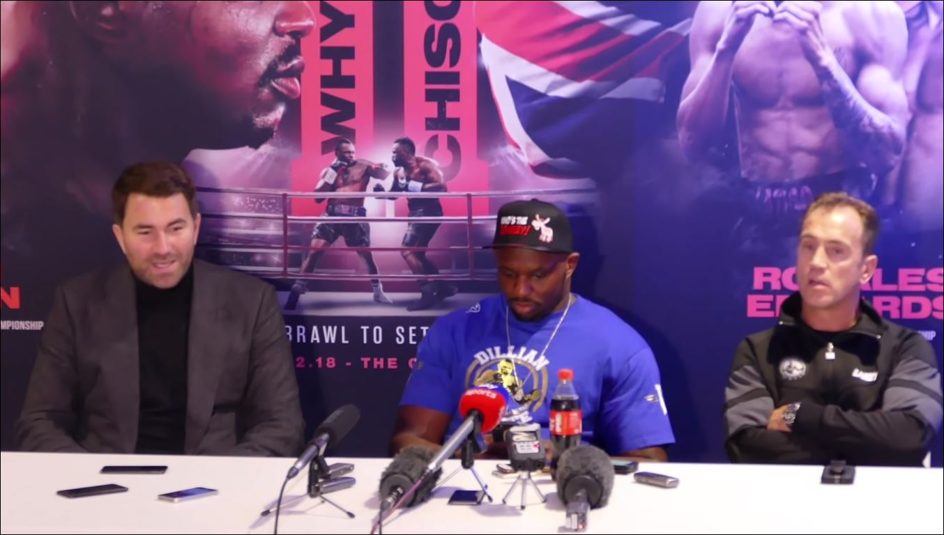 Clever Dillian Whyte Receives Improved Anthony Joshua Wembley Fight Offer