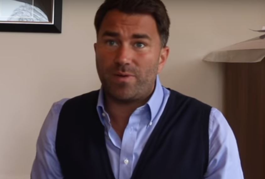Eddie Hearn Announces Latest World Champion Signing
