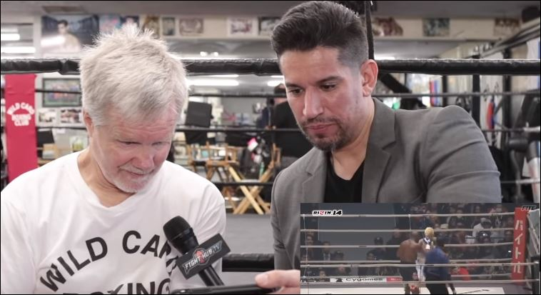 Freddie Roach's Reaction To Watching Mayweather vs Tenshin Was Gold