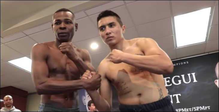 Rigo Squares Off With An Opponent For The First Time Since Lomachenko Defeat