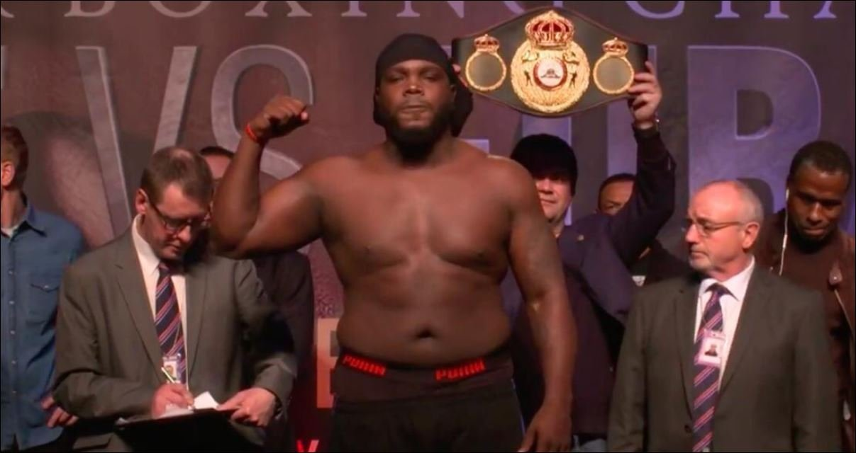 Condition Bermane Stiverne Turned Up In For Joe Joyce Has Not Gone Down Well