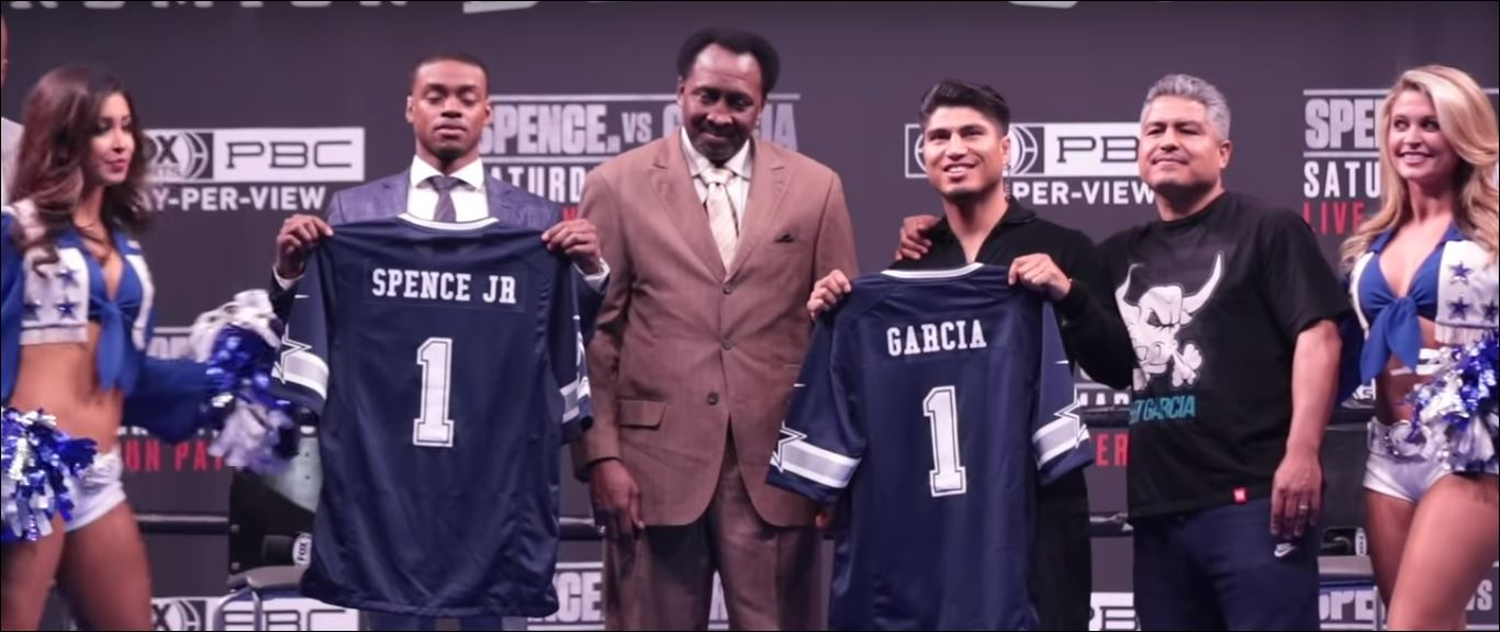 Errol Spence Issues Mikey Garcia With A Dare